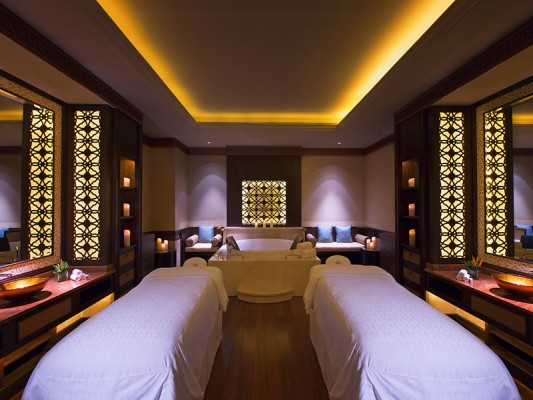 A Couples Suite at Shine Spa for Sheraton Grand Macao Hotel