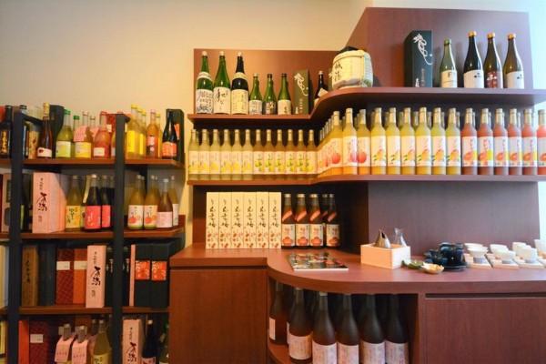 003 Sake display