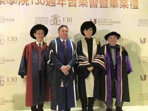 香港歌手張敬軒獲頒授榮譽音樂碩士學位