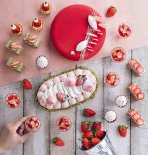 帝京酒店 花月庭  滋潤養顏嘗草莓雪燕