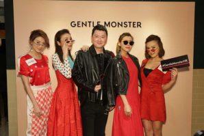 """溥儀眼鏡 """"GENTLE MONSTER RED WIDE OPEN Launch Party"""""""