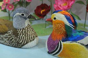 海港城「鳥語花香: 紙雕藝術展」 情人節向大家獻上滿滿的祝福!