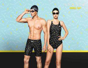 法國游泳用品arena聯乘年輕時尚品牌SPORT b